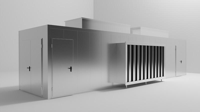 Enclosures for air conditioning e instalaciones