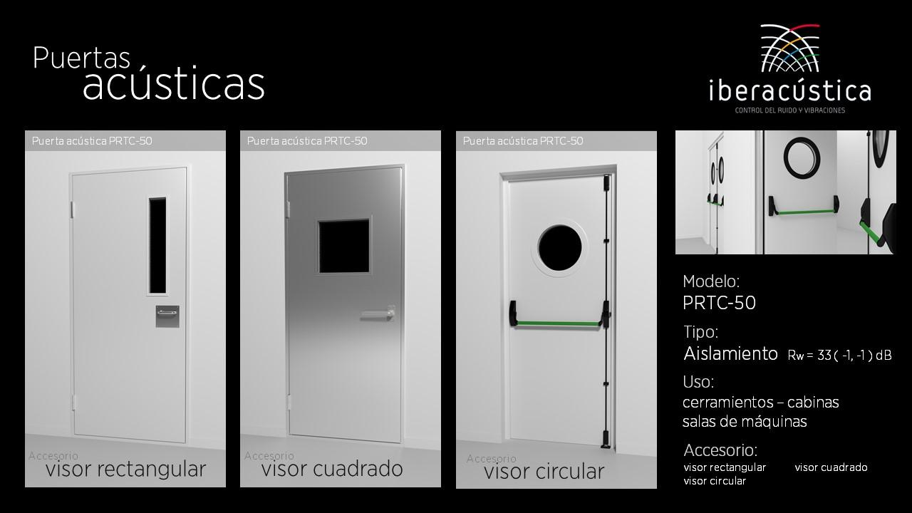 Puerta acustica PRTS50
