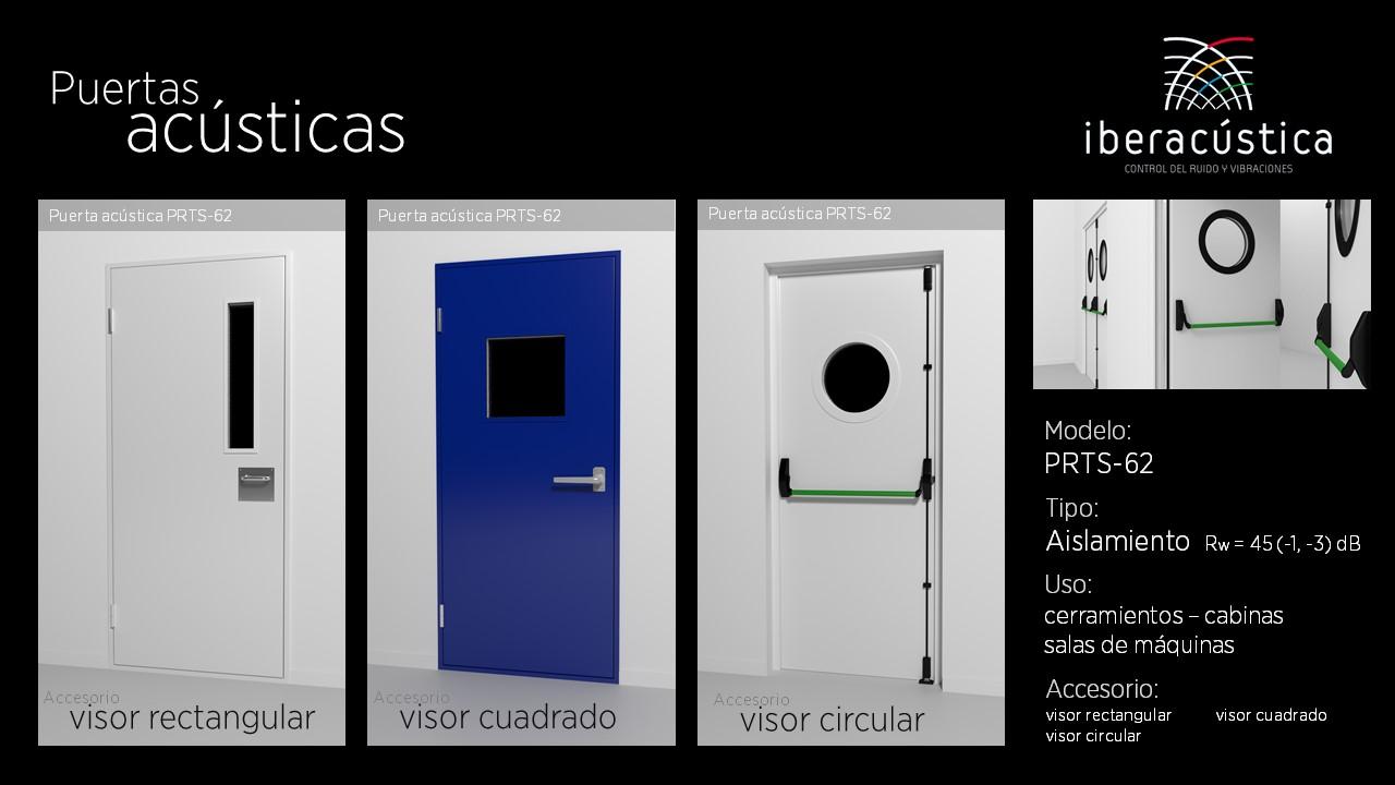 Puerta acustica PRTS62