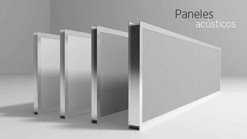 Productos de aislamiento acústico: paneles