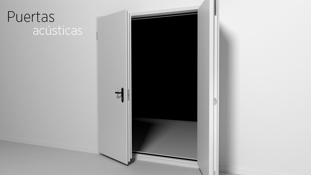 Productos de aislamiento acústico: puertas