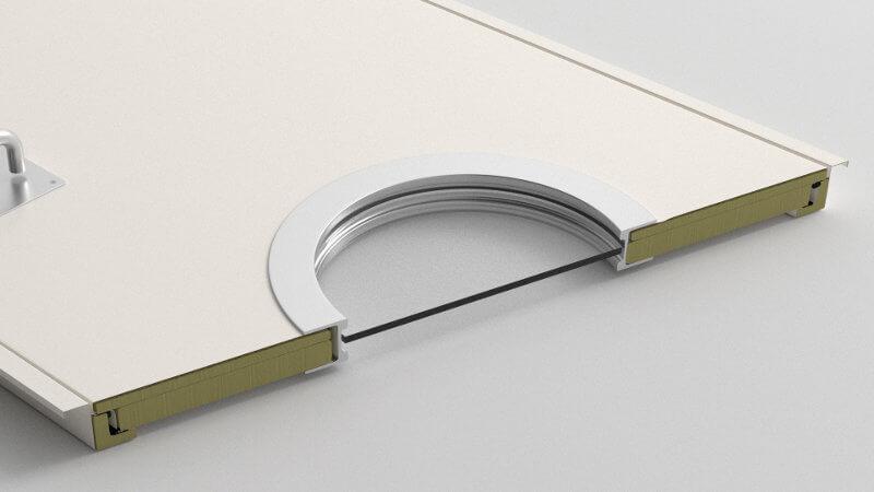 Puertas acústicas PRTC-50