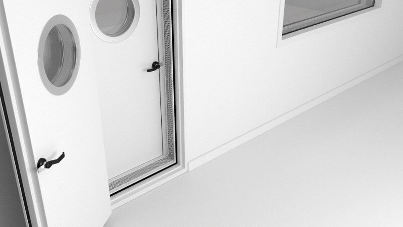 Puertas acústicas PRTS-100